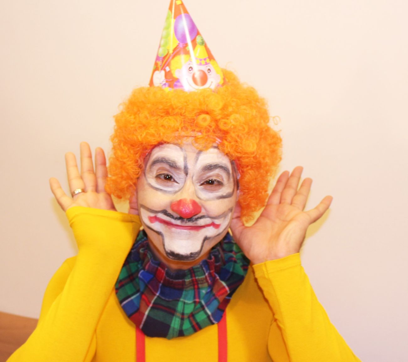 Beautiful stock photos of clown, 35-39 Years, Arts Culture And Entertainment, Clown, Face Paint