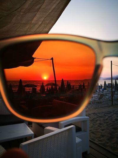Sun Glasses Sunset