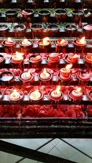 Candle lighting 👆