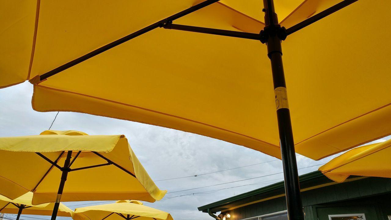 Patio Vacations Umbrellas Umbrella Sky Yellow Umbrela Colors Of Life