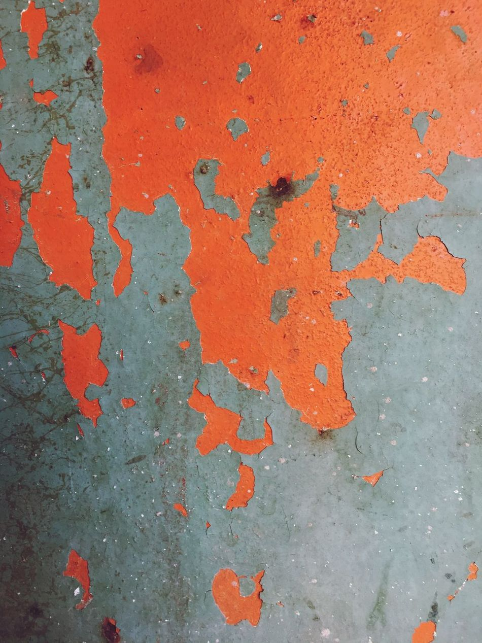 Rust Paint Paint Chips Rustic Wallpaper Close Up Textures And Surfaces Orange Metal Metallic Industry Full Frame Backgrounds Weathered Paint Textured  Rough No People Close-up Outdoors Day Architecture Built Structure Red