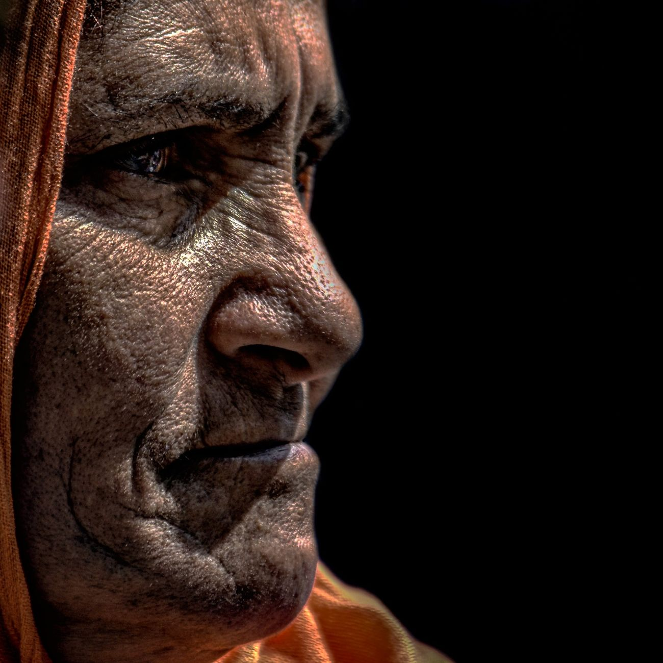 Anonymous portrait... Human Face Adults Only Human Body Part Real People Touching Beauty The Human Condition Street Portrait EyeEm Best Shots Contemplation RePicture Ageing Human Representation Exhibition Center Exhibition Exhibit Art Photographic Photograph Photographer Gallery Visitor Watchers Watch See Look Looking Private Public Blurred Blur Out Of Focus Photography Documentary Reportage Street Mature Adult Human Skin Exhibition Pieces Facial Expression Human Eye Wrinkled Person Adult Streetphotography One Person One Woman Only