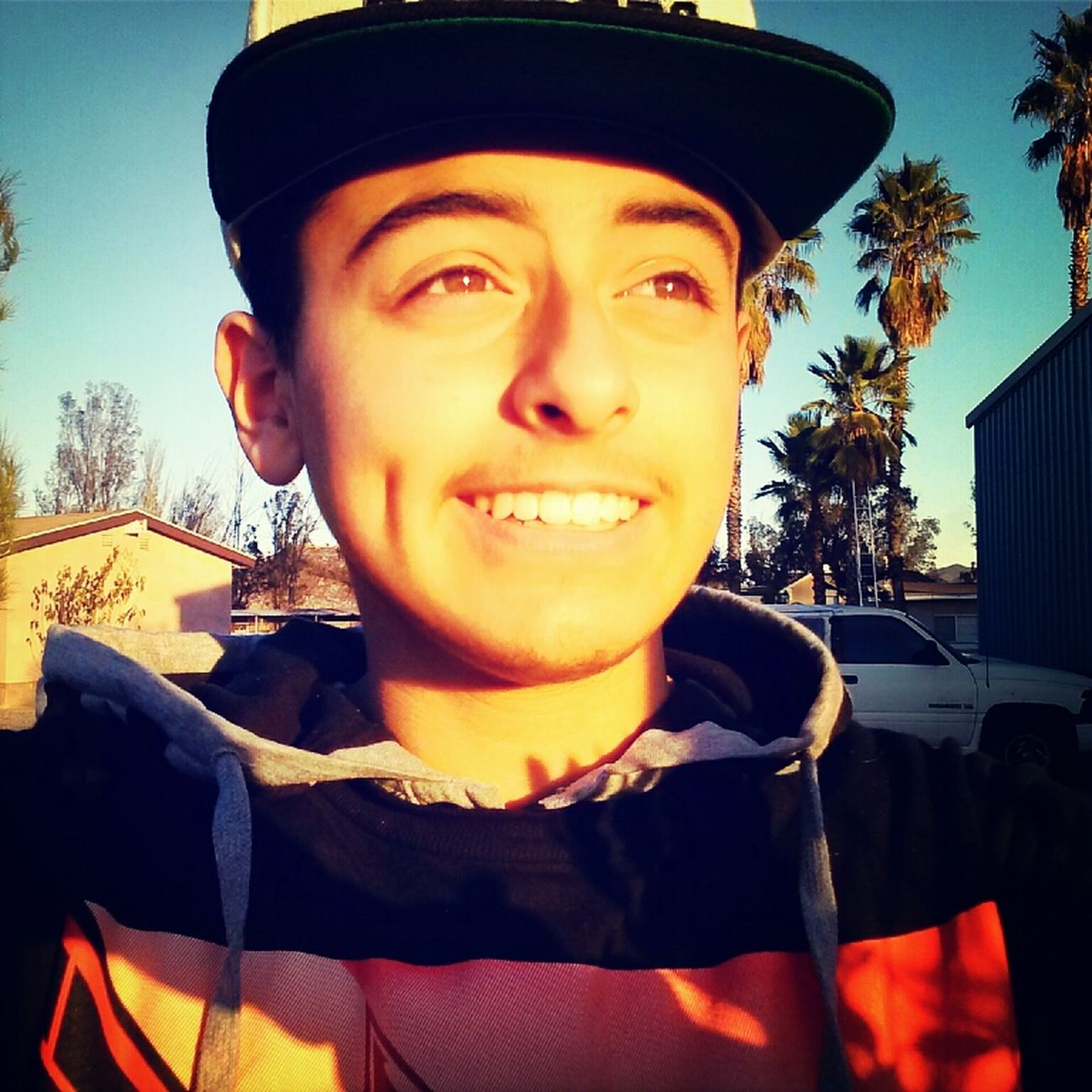 my eyes/dimples tho(: