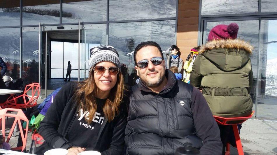 EyeEm everywhere, even at Zaarour Ski Resort Enjoying Life