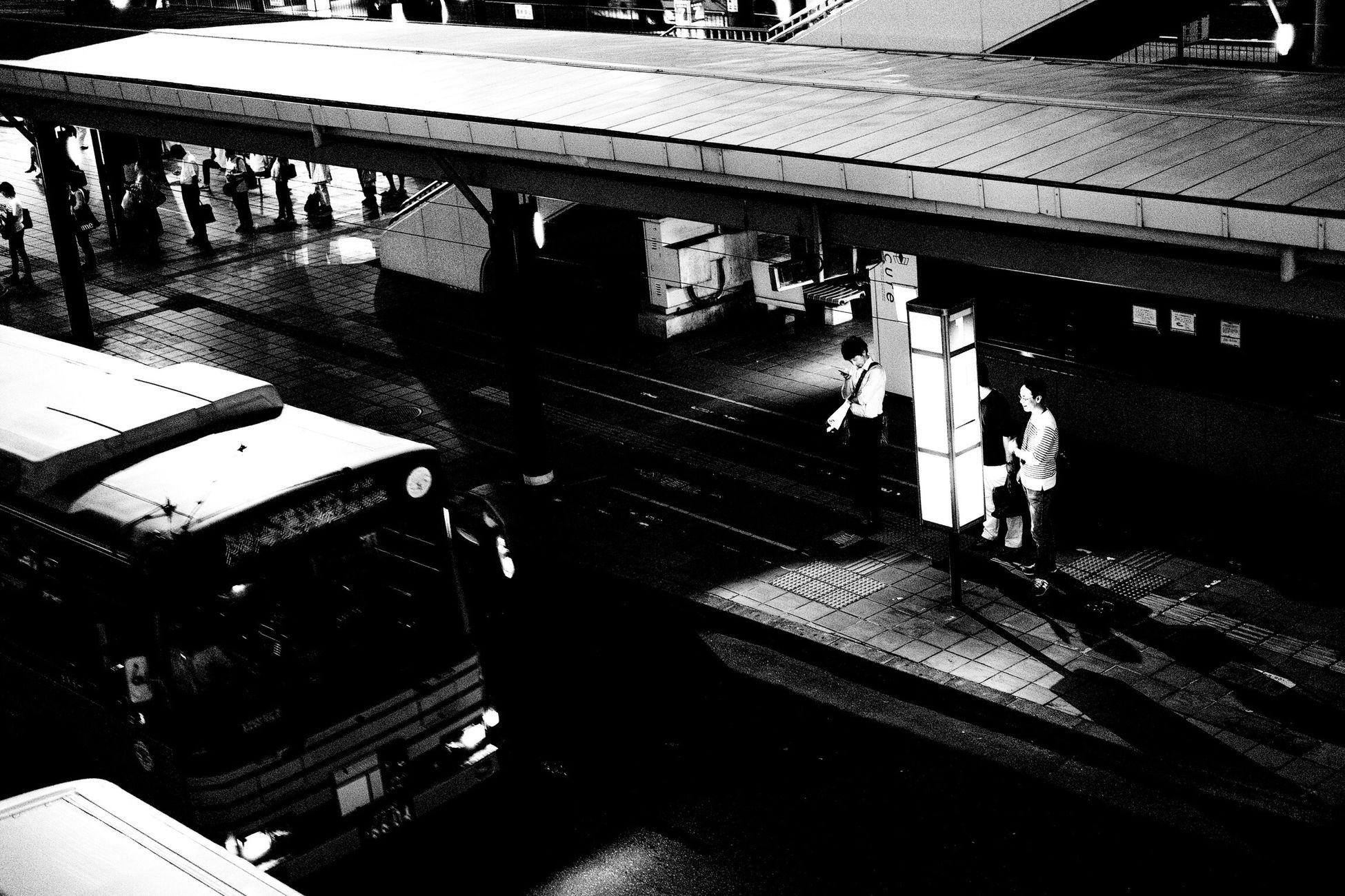 仙台 仙台雑景 待人 バス停