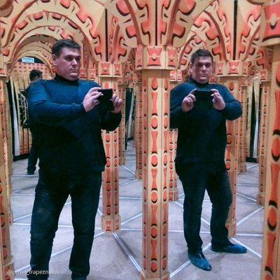 "20141109 , Россия , Новосибирск . ПаркЧудес ""Галилео"". Зеркальный лабиринт. Многомерность меня;-) / Russia, Novosibirsk. ParkOfWonderland ""Galileo"". Mirror Labyrinth. Multidimensionality of me;-)"