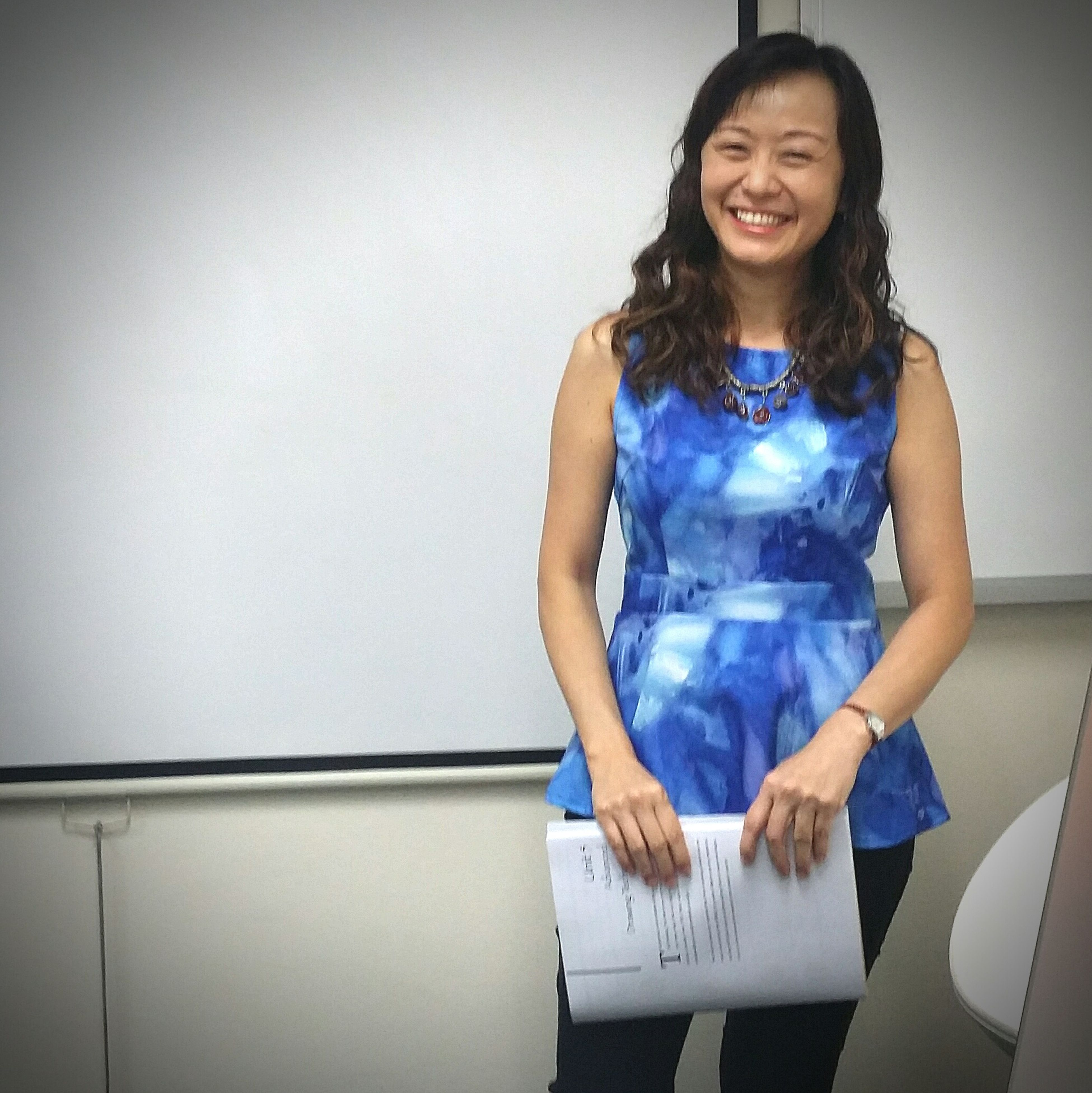 I took her course in June and now taking two more with her. Software Software Trainer Smile Happy People Singapore