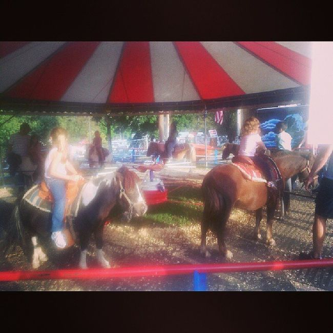 Pony ride fun!!! Georgiastatefair
