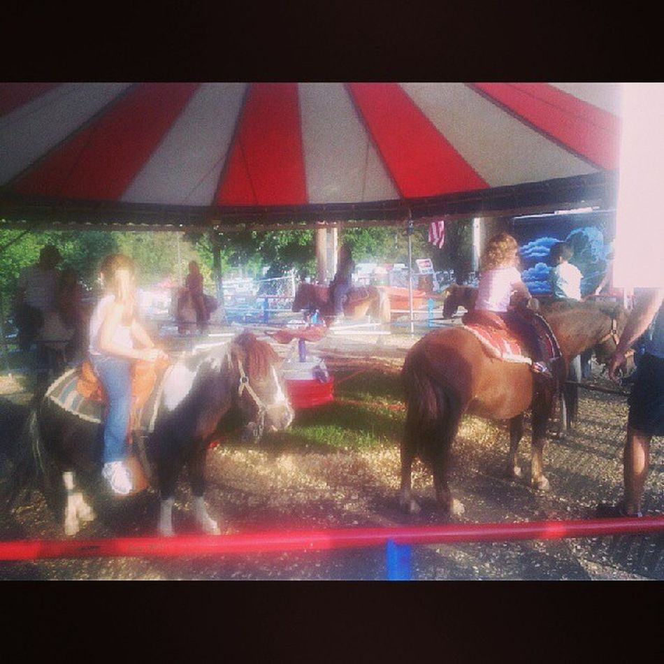 Pony ride fun!!! Georgiastatefair