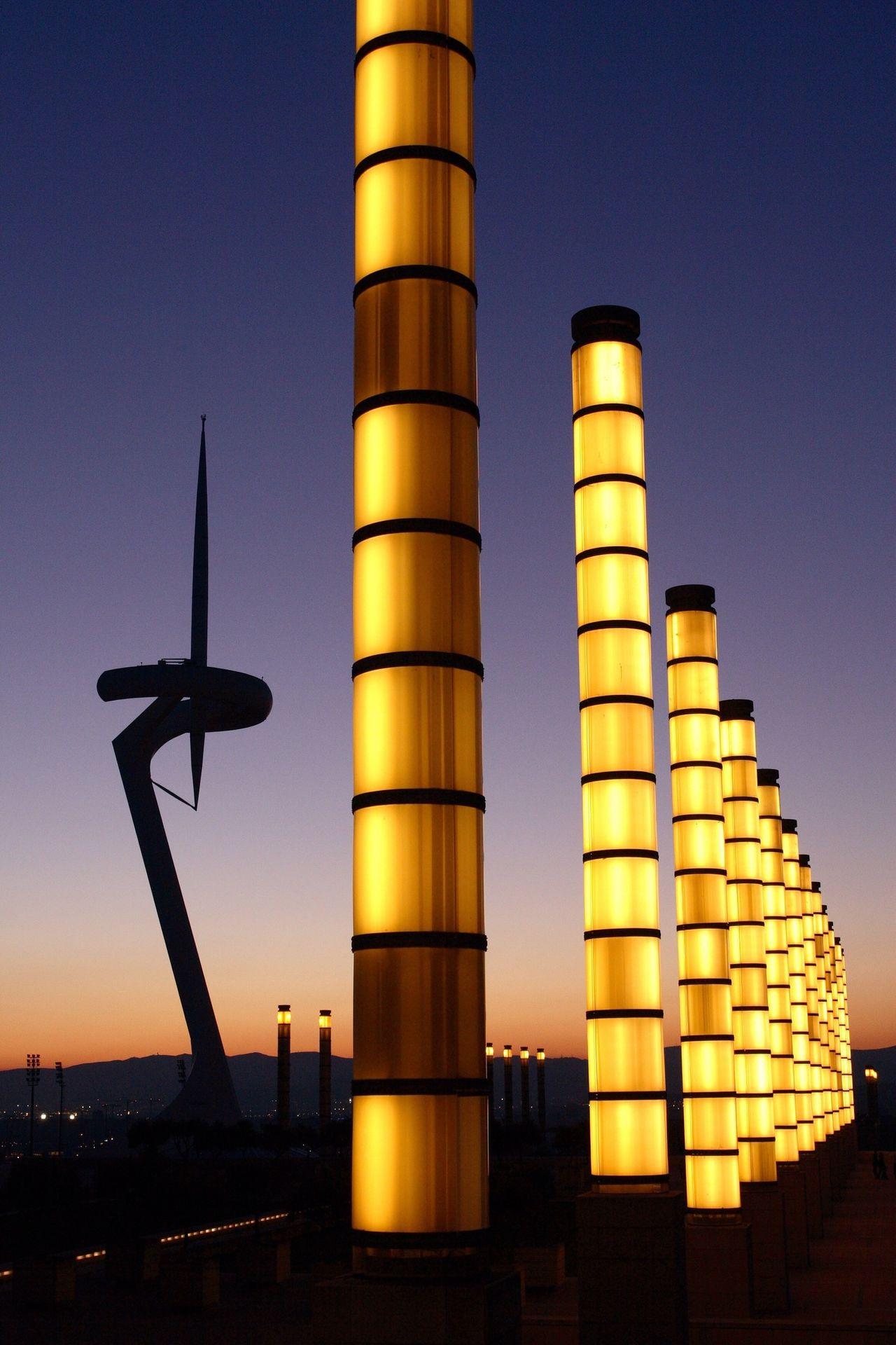 Montjuic Barcelona Torre Calatrava The Architect - 2017 EyeEm Awards