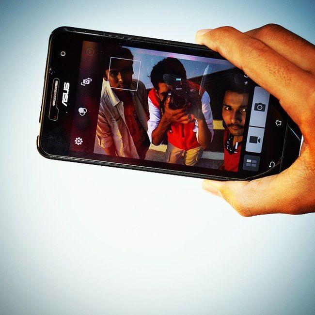 An Ultra Selfie Clik! Illuminati2k15 Bluesky BlakAsus Nikon Collegefriends Perfectday