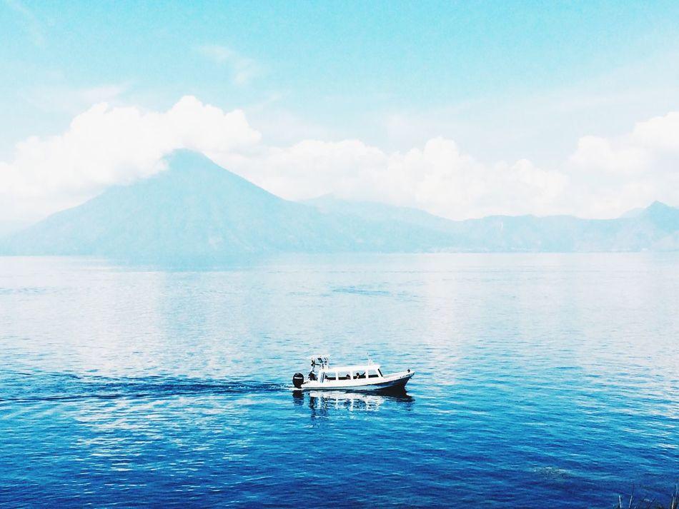 Cobalt Blue By Motorola Lago Atitlán Guatemala Enjoying Life Panajachel  Relaxing PerhapsYouNeedALittleOfGuatemala  Landscape