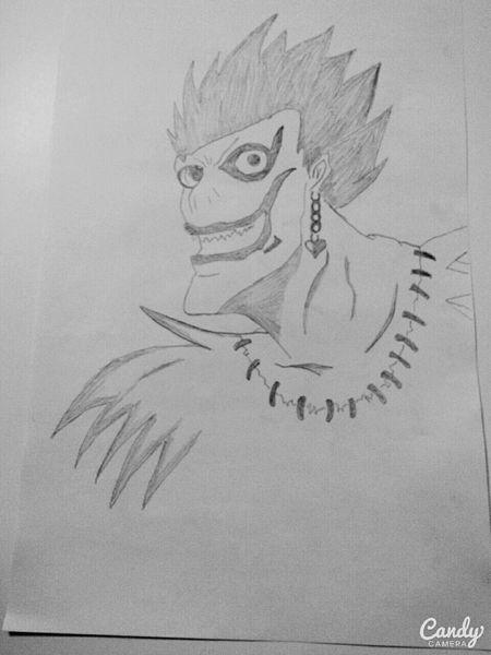 Death Note Ryuk Art My Drawing