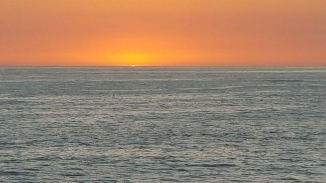 Sunset Ocean Almost Gone Sunset Orange Sky Sunset Laguna Beach Landscapes With WhiteWall