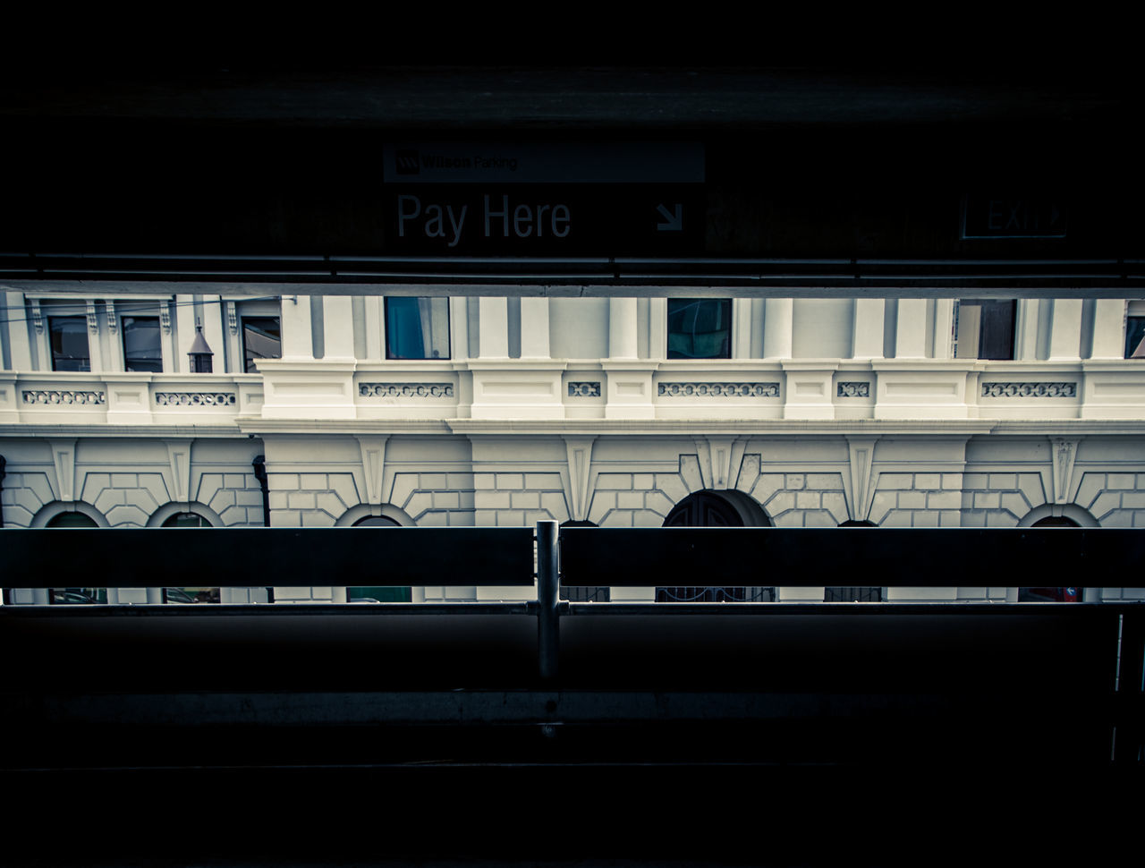 transportation, architecture, text, public transportation, built structure, rail transportation, no people, train - vehicle, communication, railroad station, travel, indoors, day, building exterior, close-up