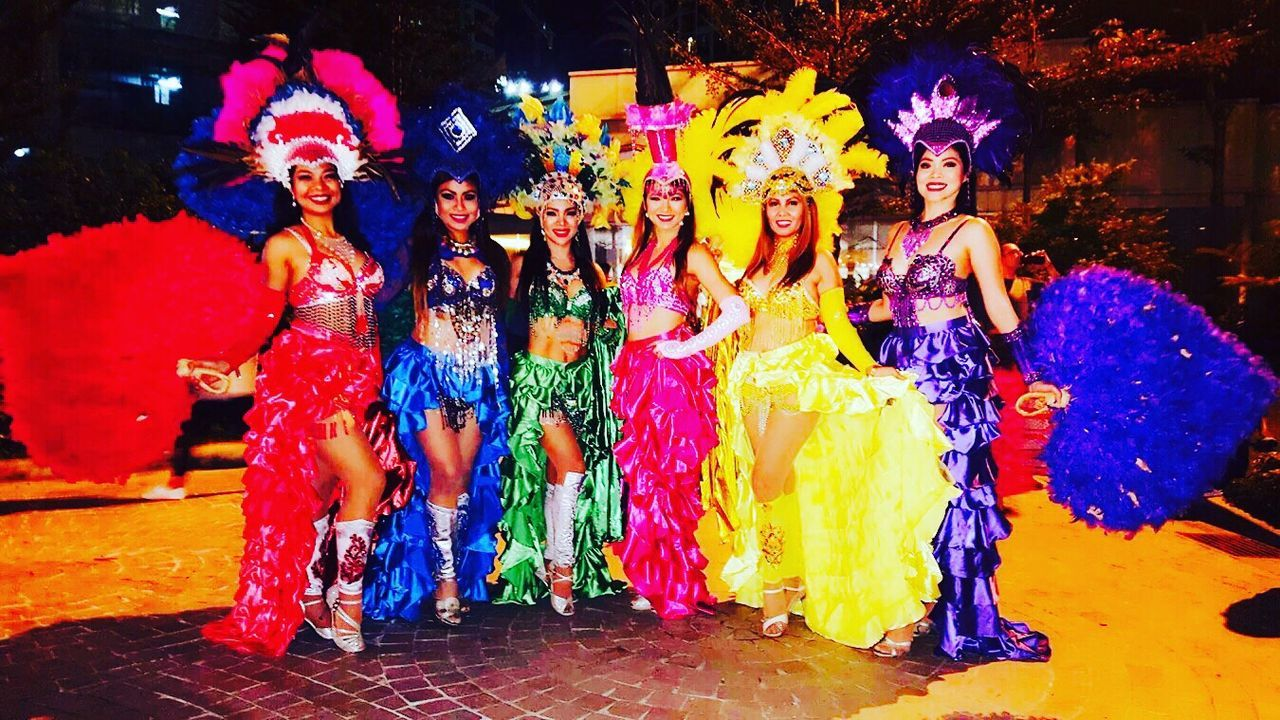 The colors of Samba at Carnaval de Rua Brazilipunas 2016