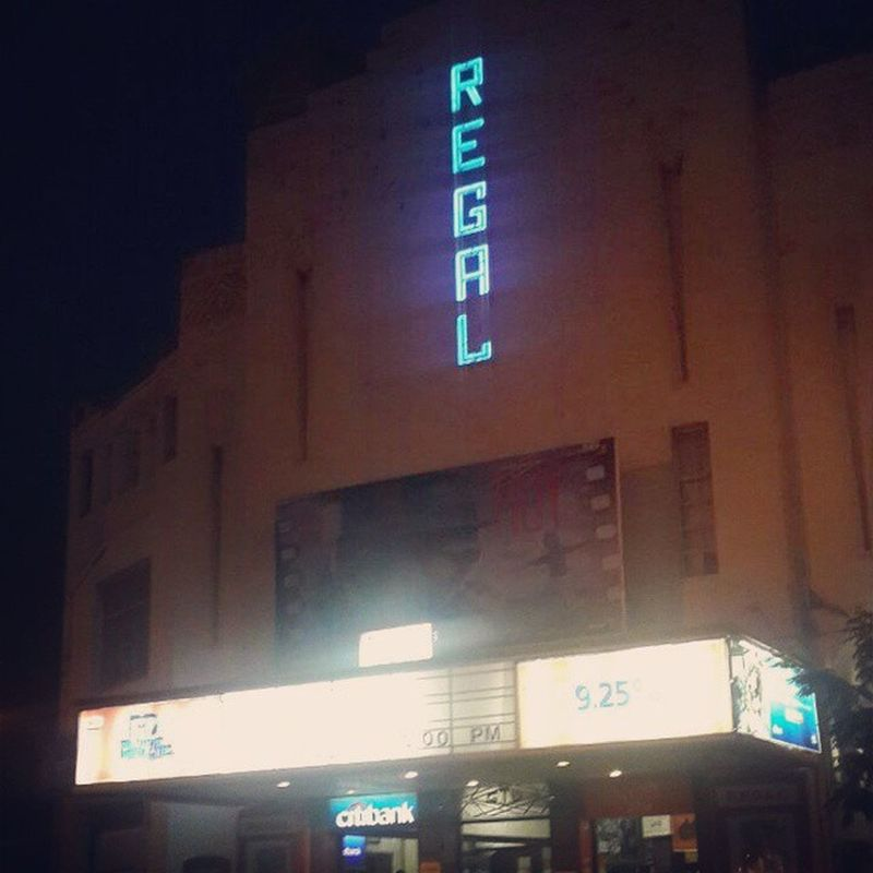 TheRegal Cinemais anArt decoMovie theaterlocated atColaba Causeway, inMumbai,India. As per theLimca Book of Recordsit is the first air conditioned theatre of India The cinema was the third venue to host theFilmfare Awardsnight. Mumbai Colaba Colonial Architectire Cinema Bollywood