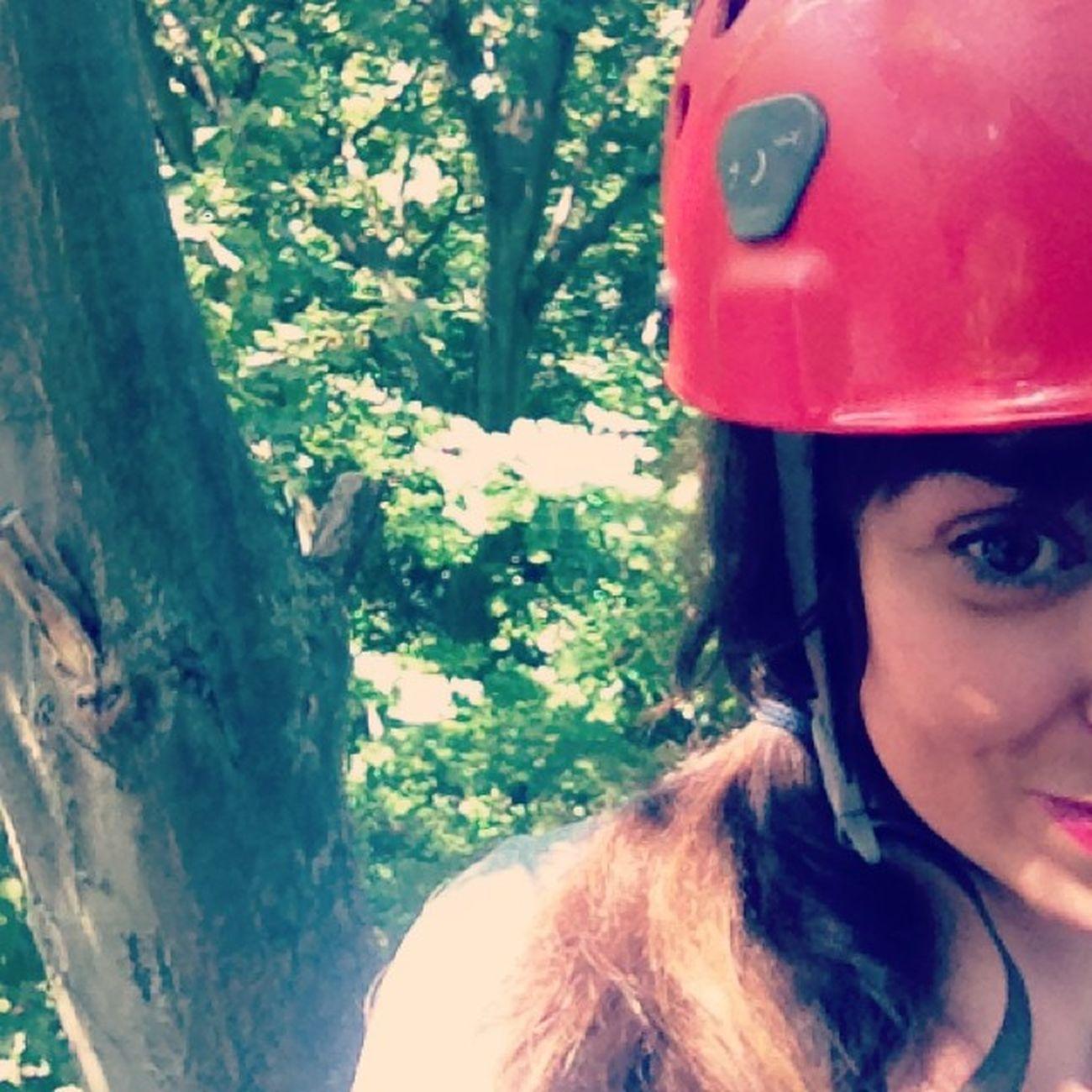 I'm in the trees! Travelingjj Zipitgood