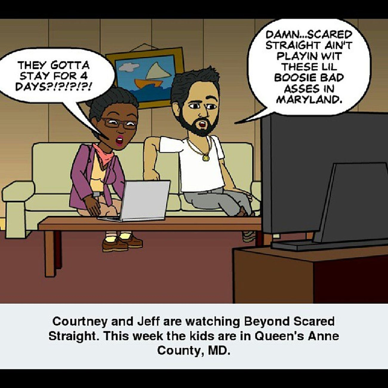 Well damn Scared Straight!!! BeyondScaredStraight