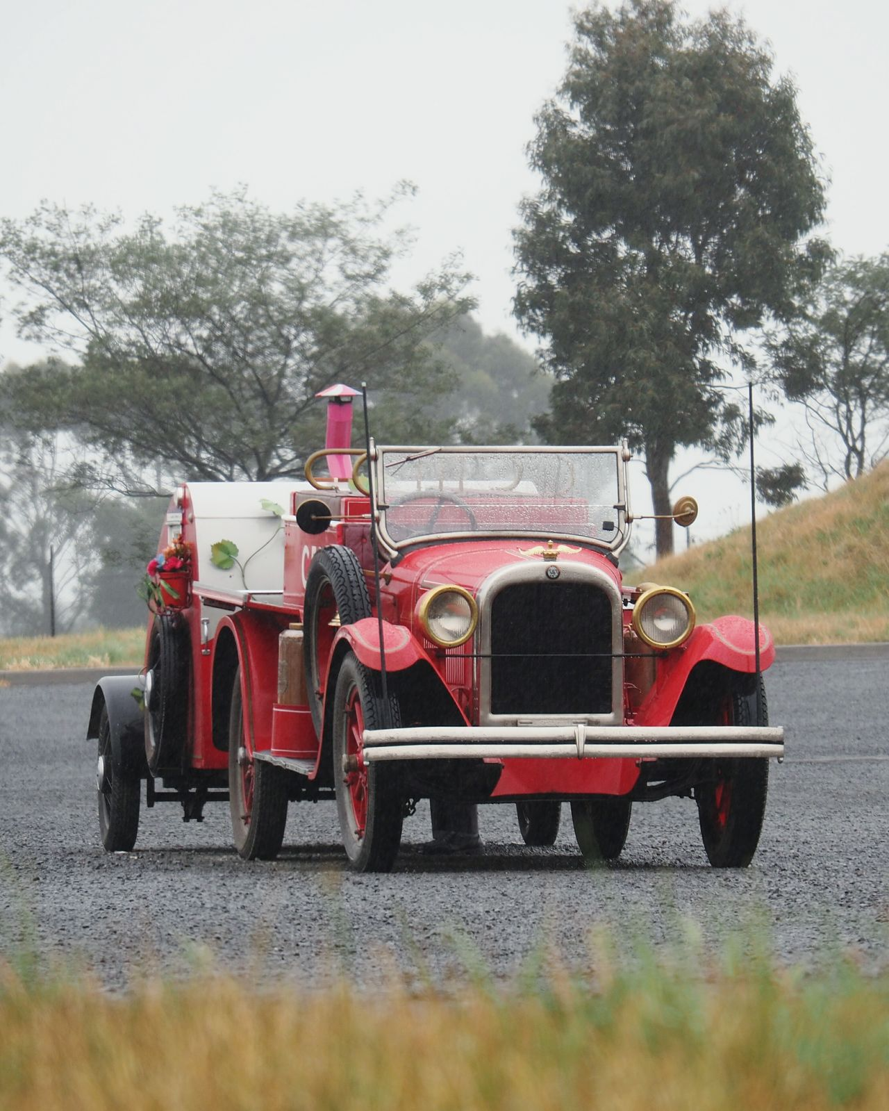 Old Country Fire Authority (CFA) car at Victoria Australia Old-fashioned Mode Of Transport Transportation Outdoors No People Country Fire Authority Cfa Old Car Heritage