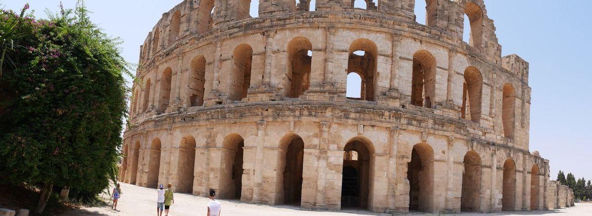 Colleseum Tunisia El Jem Coliseum El Jem Archeology
