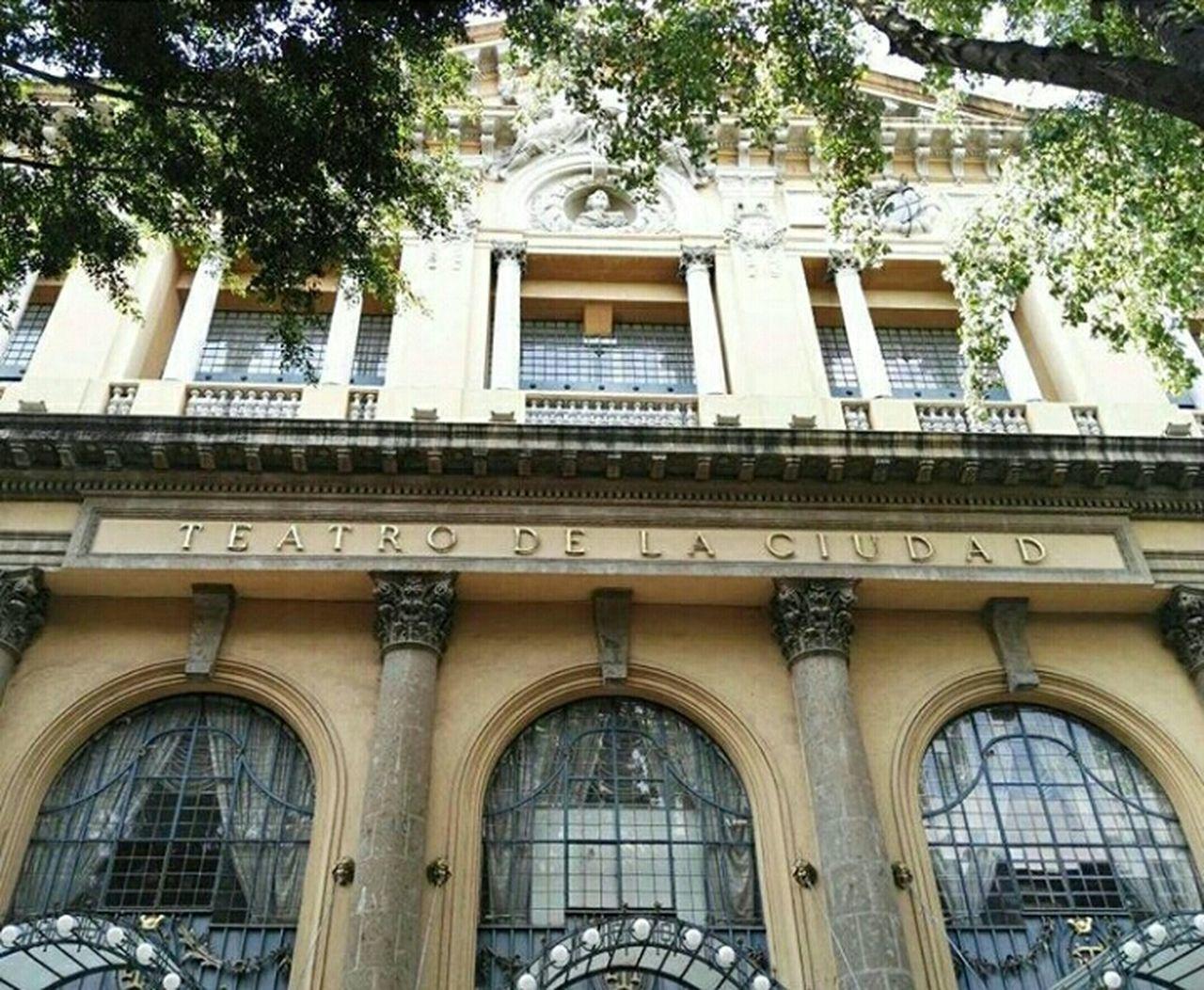 Mexico City Centro Historico TeatroDeLaCiudad Art Historical Place