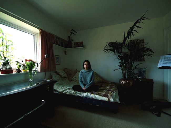 Room Portrait Enviromental #interiors #london Girl Photography Olympus Wide Angle Simple