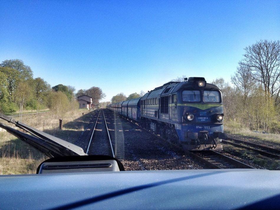 Long shadow Pkp Trains