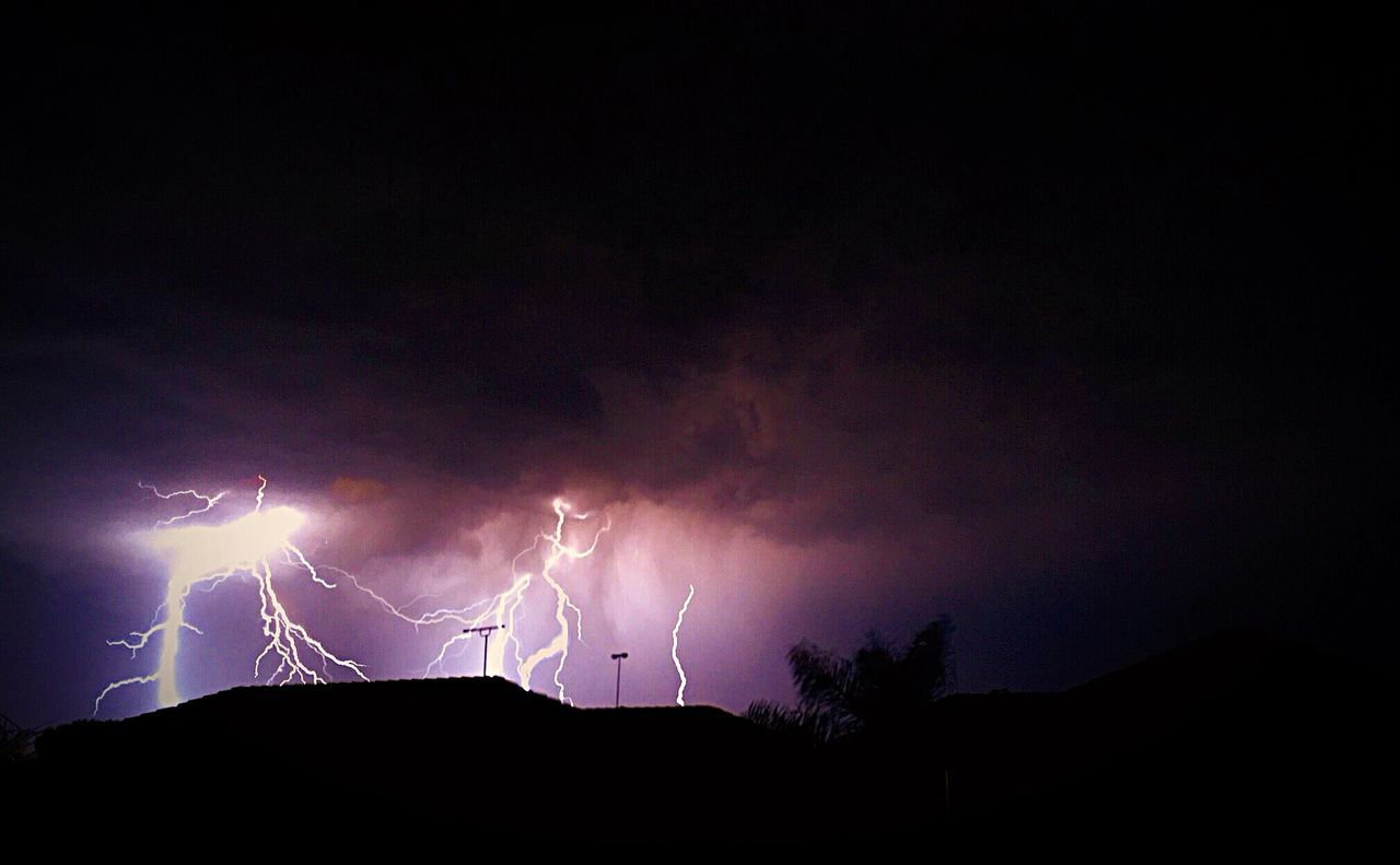 Lightning Lightning Storm Lightning Bolt Stormy Weather Light Show South Africa Johannesburg Scary