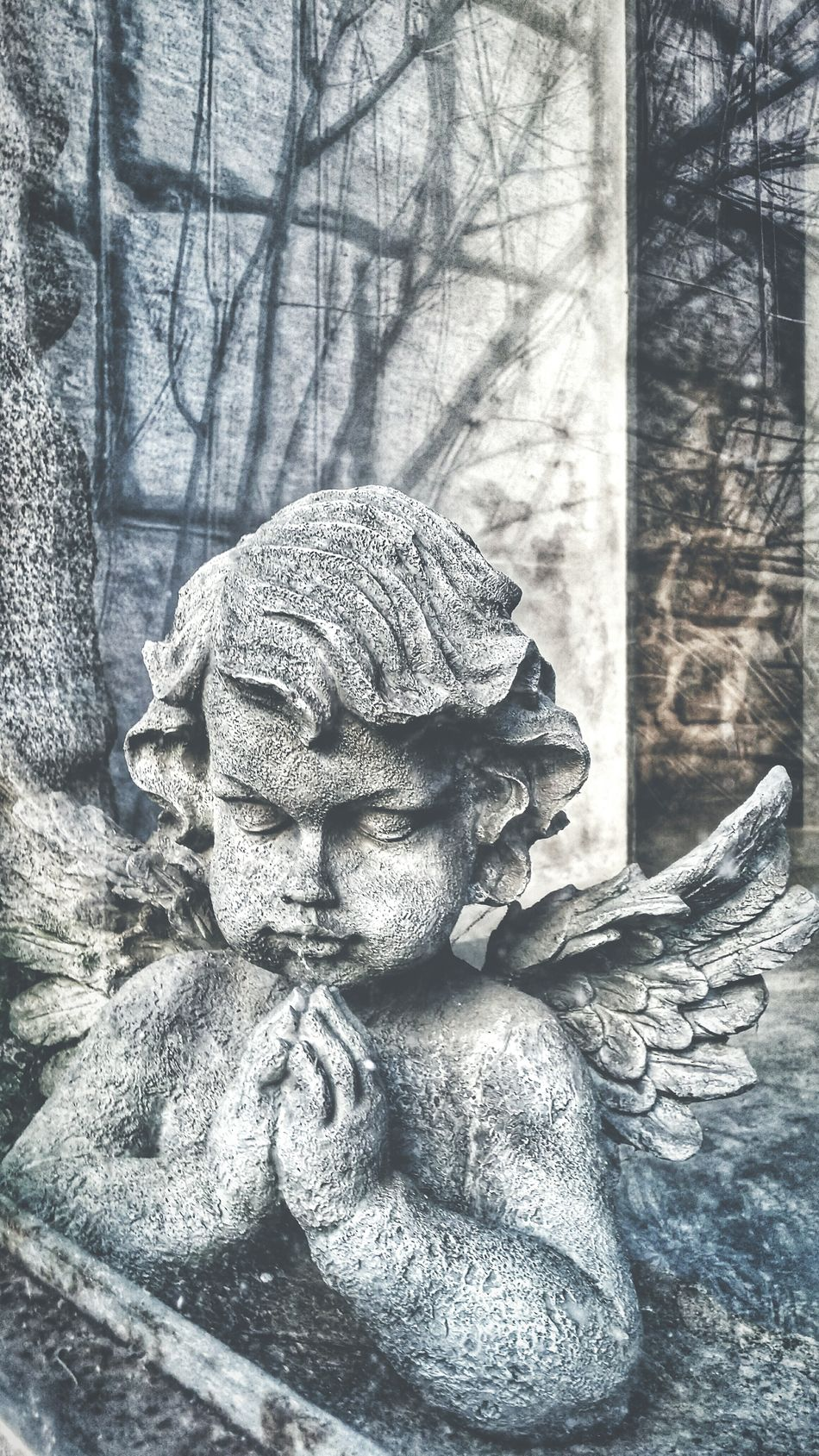 Textured  No People Angel Angels Querubín Querubini Espiritual Rezando