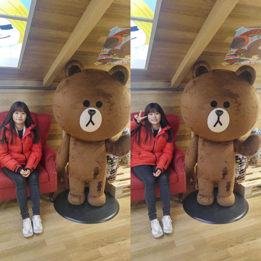 LINE STORE in Seoul Line Store Bear