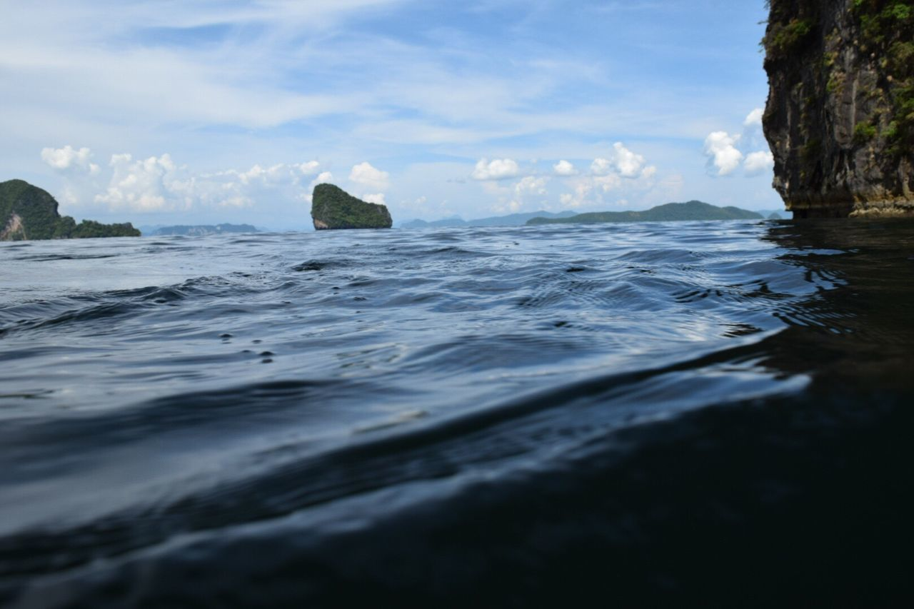 sea, nature, no people, rock - object, sky, water, tranquility, beauty in nature, day, outdoors, scenics, close-up