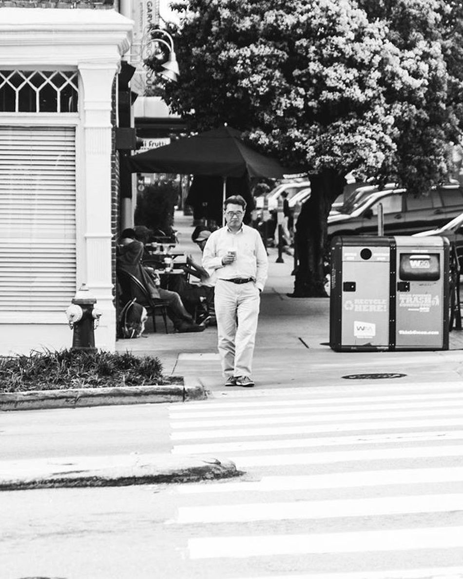 In Columbia, South Carolina for my wife and I's anniversary. This man has Starbucks in his hand. OneYearAnniversary Praise Praisethelord Jesuschrist Jesusislife JesusIsLord Marriedatfirstsight Marriage  Blessed  Godislove Starbucks Canon_photos Canon7d  Streetphotography Blackandwhitephotography Southcarolina Telling Stories Differently