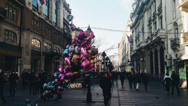 🎈VSCO Vscocam Street People Balloons