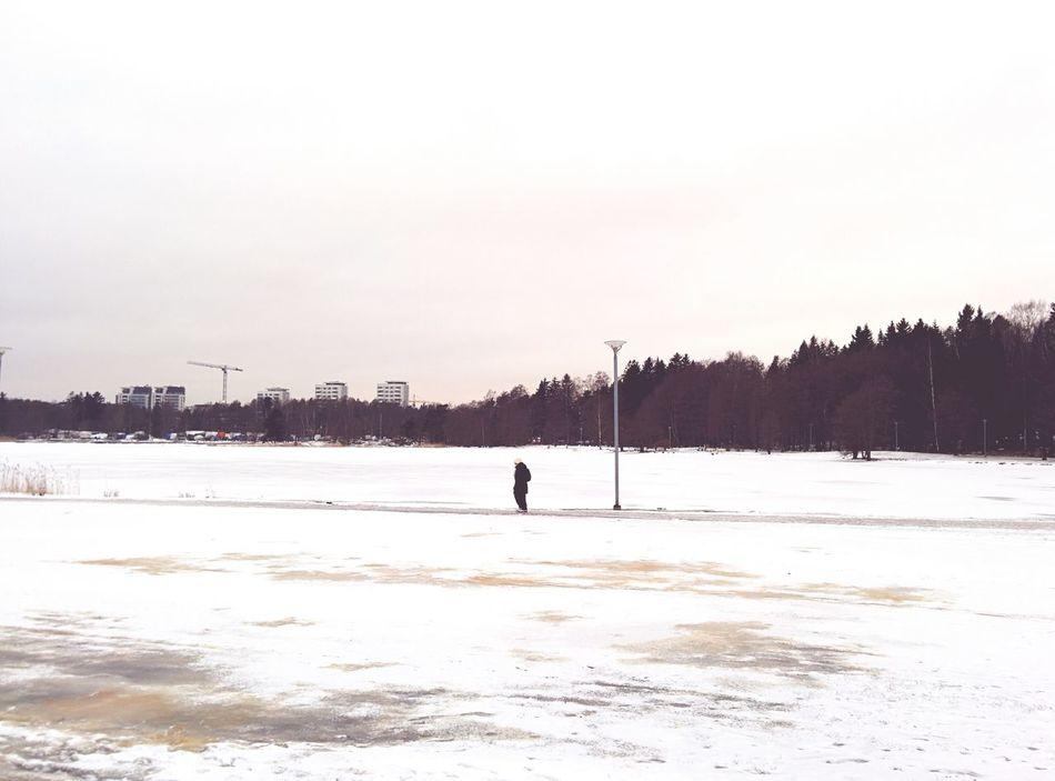 Beautiful stock photos of park, Cold Temperature, Day, Distant, Espoo