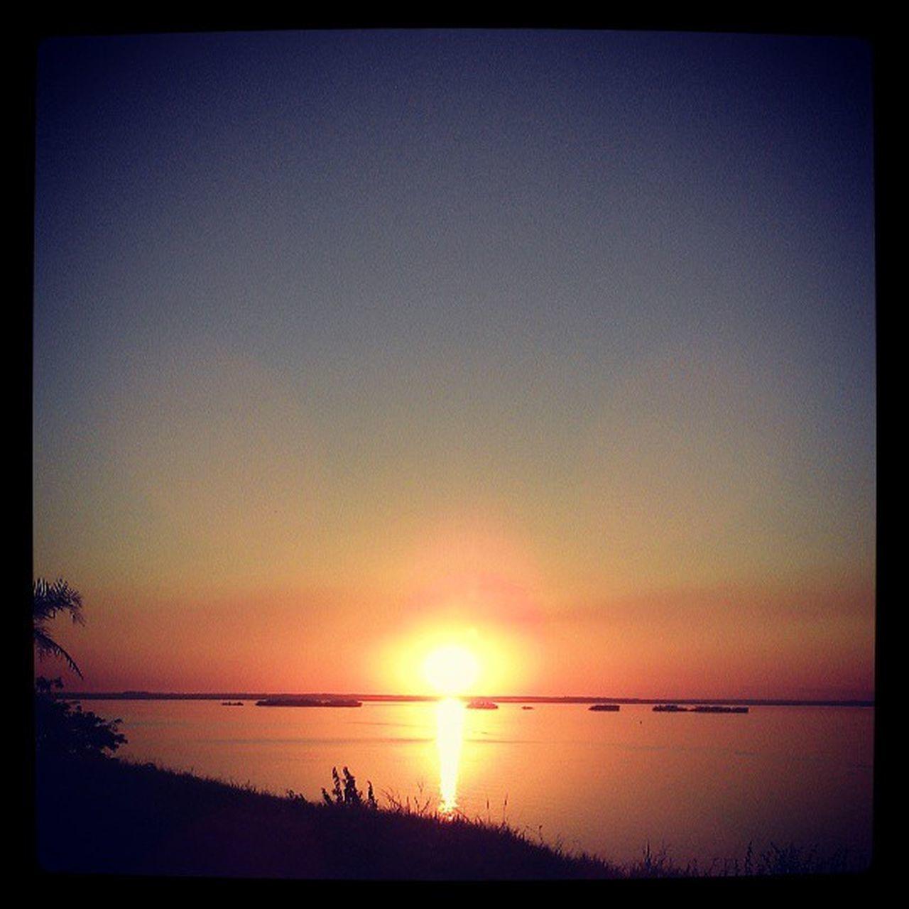Cada vez mais apaixonado pelo por do sol do oeste Sunset Presidenteepitacio