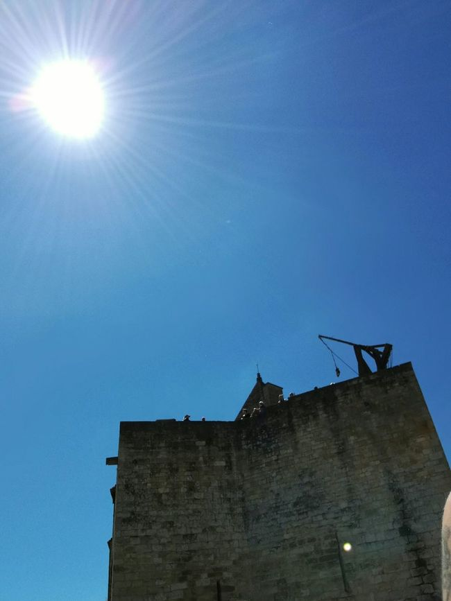Trebuchet on a Castle Tower