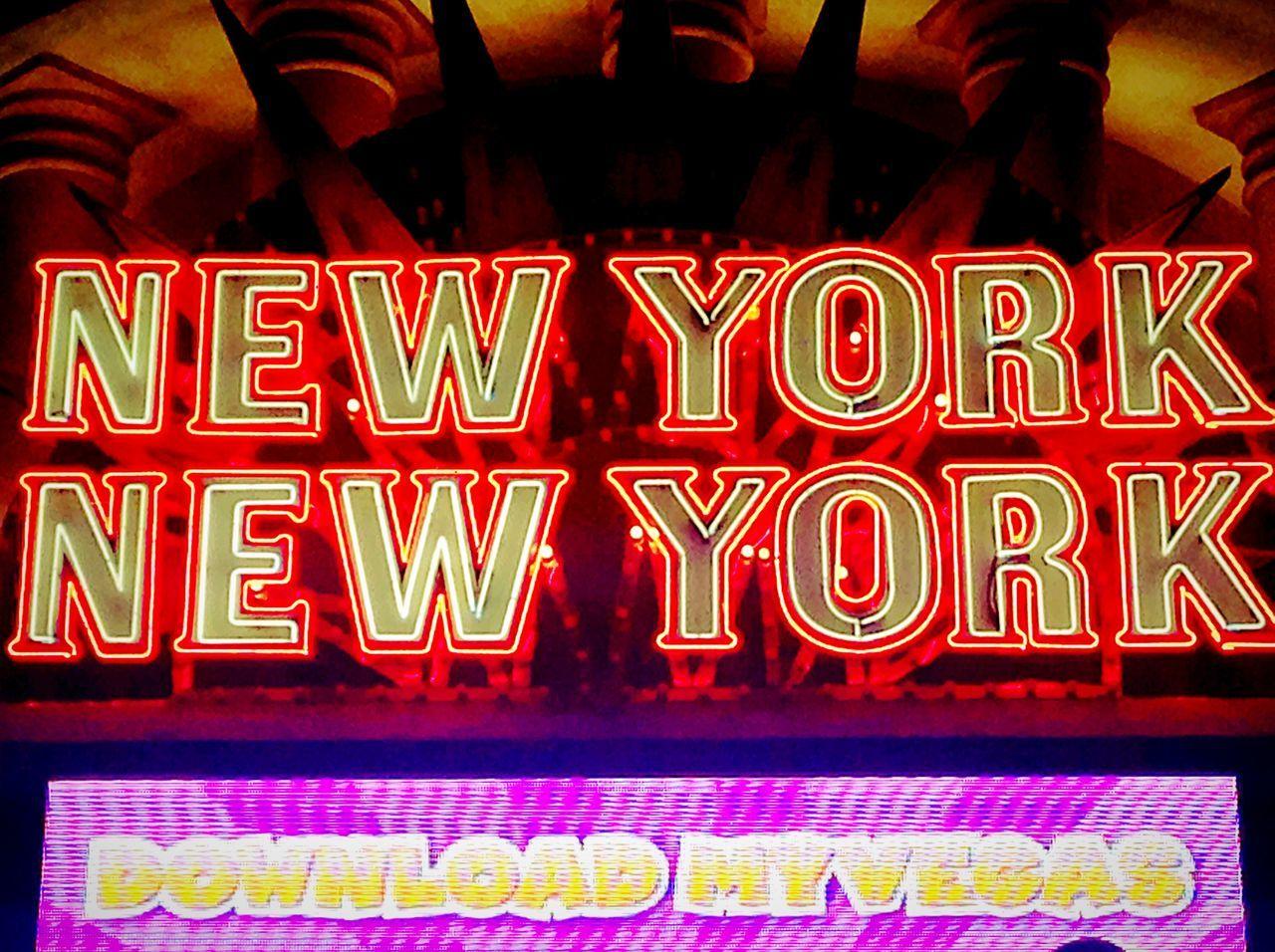 All The Neon Lights Newyorknewyork Las Vegas Neon Neon Lights Newyork Newyork Signs Sign