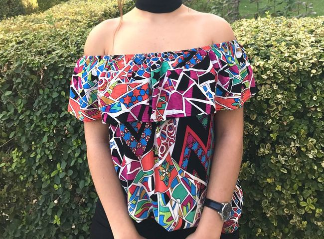 Standing Field Midsection High Angle View Front View Person Casual Clothing Grassy Outdoors Day Blue Multi Colored Girls Outfit Outfit #OOTD Outfitoftheday Outfits Outfit Of The Day Outfit OOTD Outfits ♡ Outfitpost Sweet Teenager Lifestyles Best