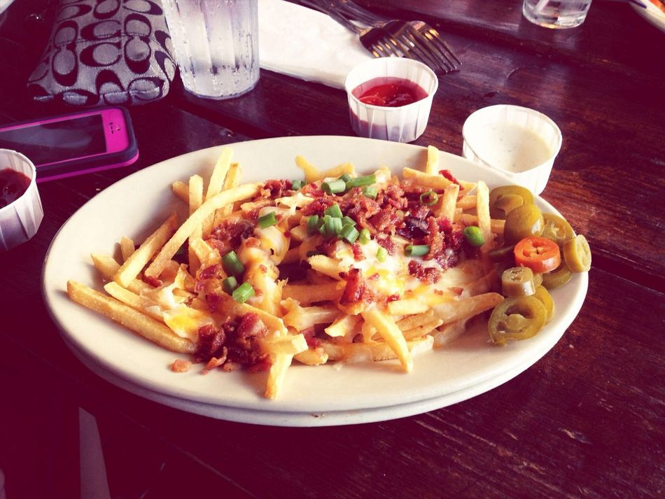 Fine Dining Cheese Fries