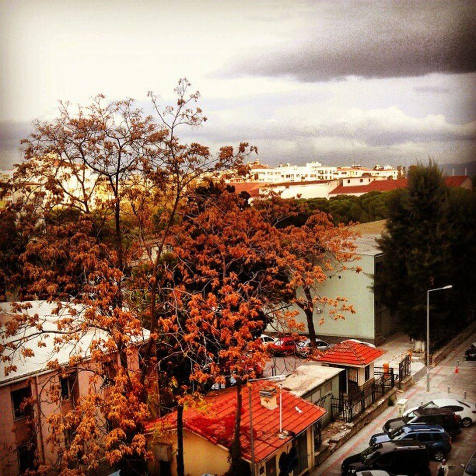 Yağmur sinsice yaklaşır Izmir'in üstüne...