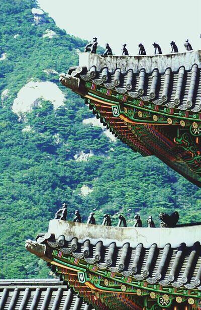 Old Palace Keeper Color Telescope @korea seoul gwanghwamunro [gwanghwamun palace] @Panasonic GH1 / 45-200mm f4.0-5.6