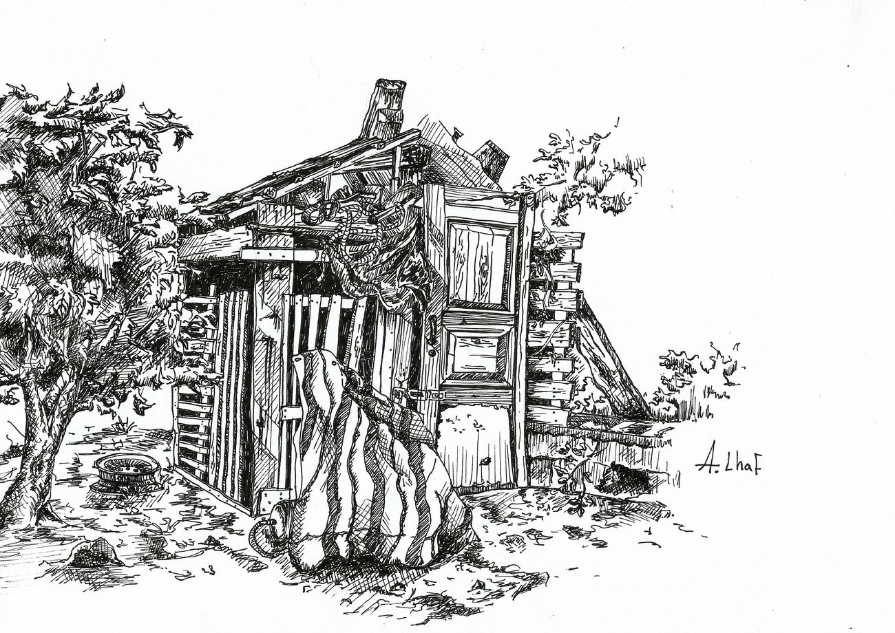 Sketch Drawing Cottage Photography Blackandwhite Art Lineart Photooftheday Nature Lebanon Lebanese