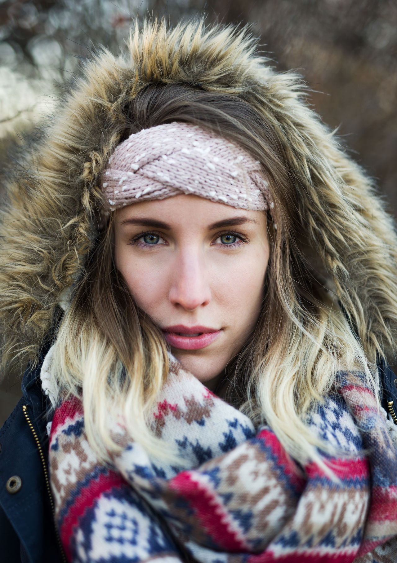 Beautiful Beautiful Woman Beauty Blond Hair Cold Cold Days Cold Temperature Portrait Portrait Of A Woman Scarf Warm Clothing Winter Winter Winter Fashion Wintertime Young Women