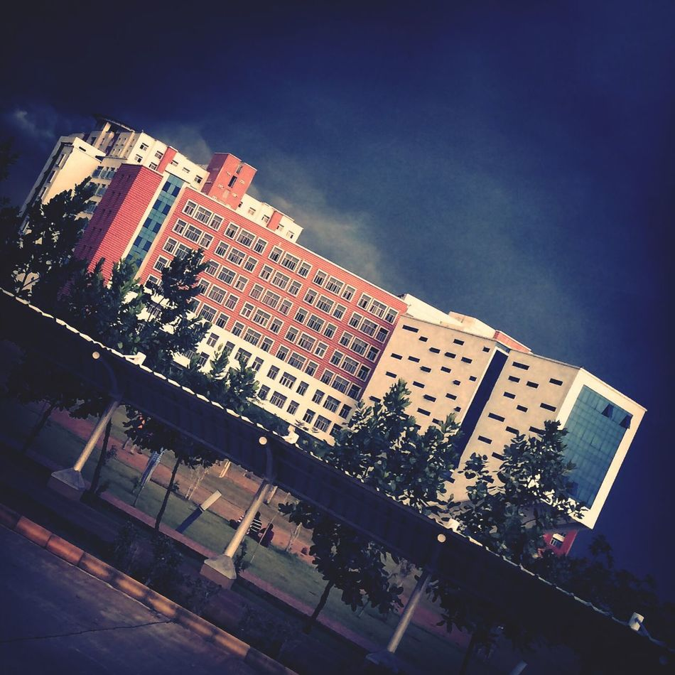 Cloudy Academic Block Chennai Ab First Eyeem Photo
