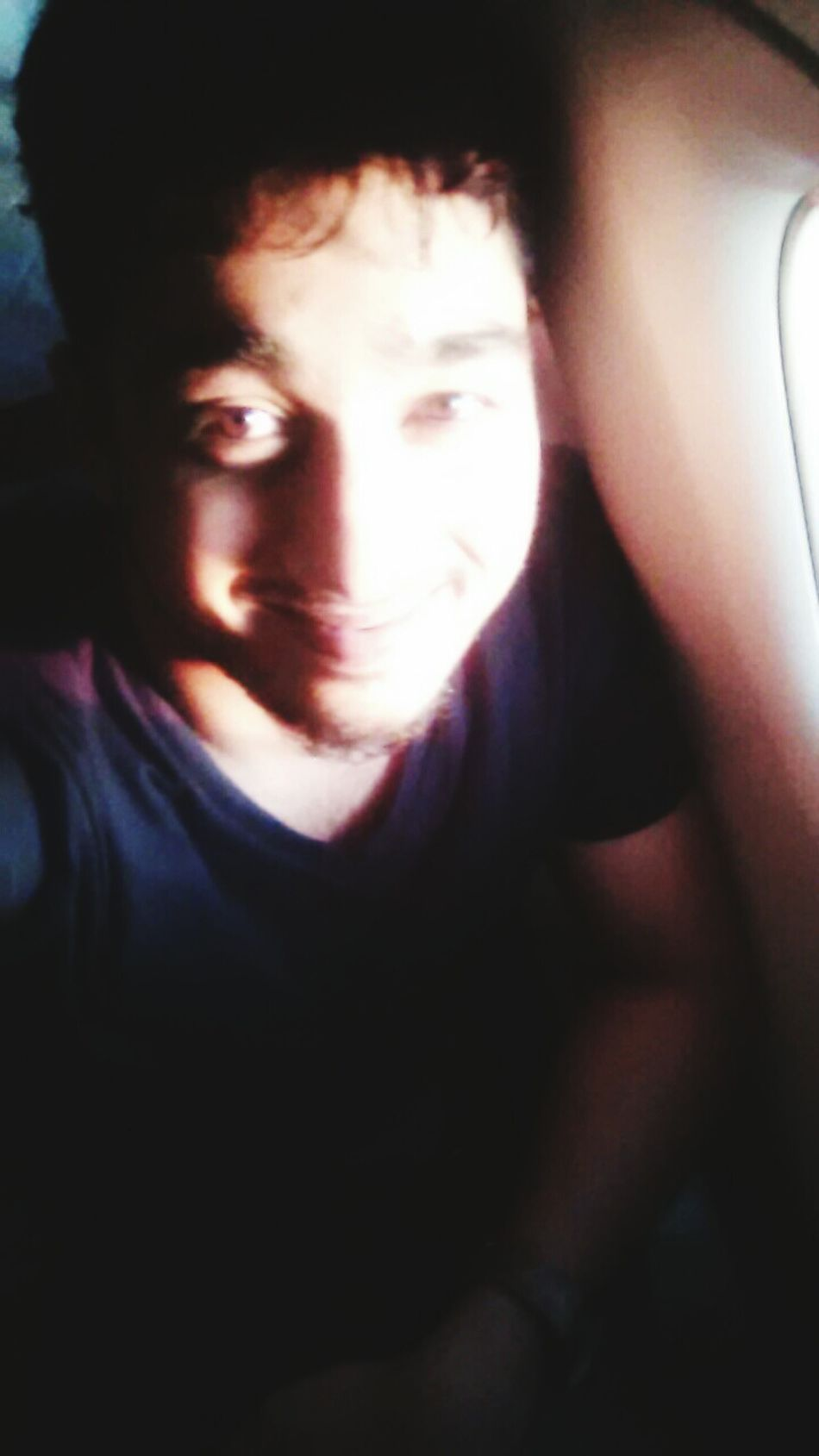 its first time seen wakeup sun ! In Flight Running Late Getting Fresh Hello World