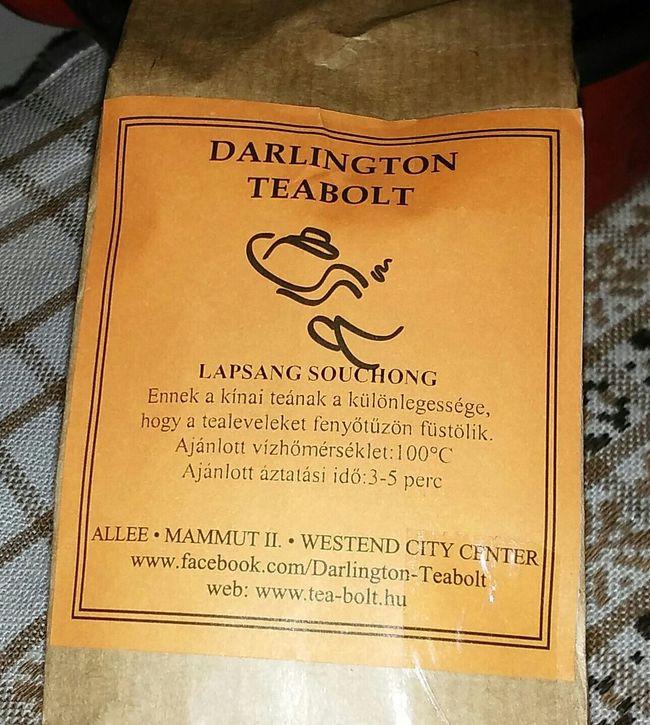 my favourite tea Tea LapsangSouchong Tea Time