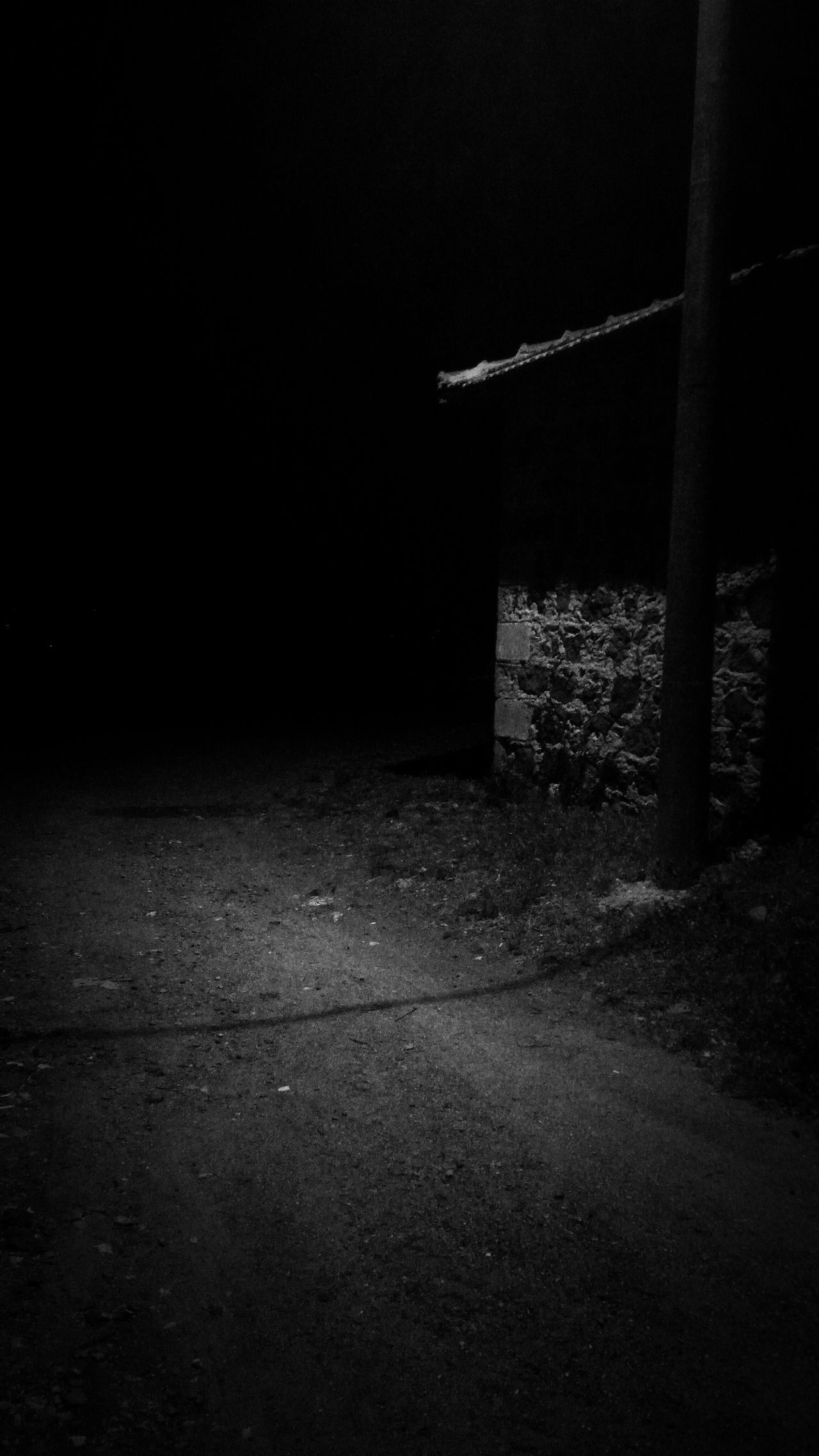 Dark Night Tranquility Footpath Outdoors Black And White The Way Forward No People Darkness Tranquil Scene Surface Level Long Dark Chocolate Casual Clothing Nature Photo Nikontop Focus On Foreground Sea Animal Themes Looking At Camera