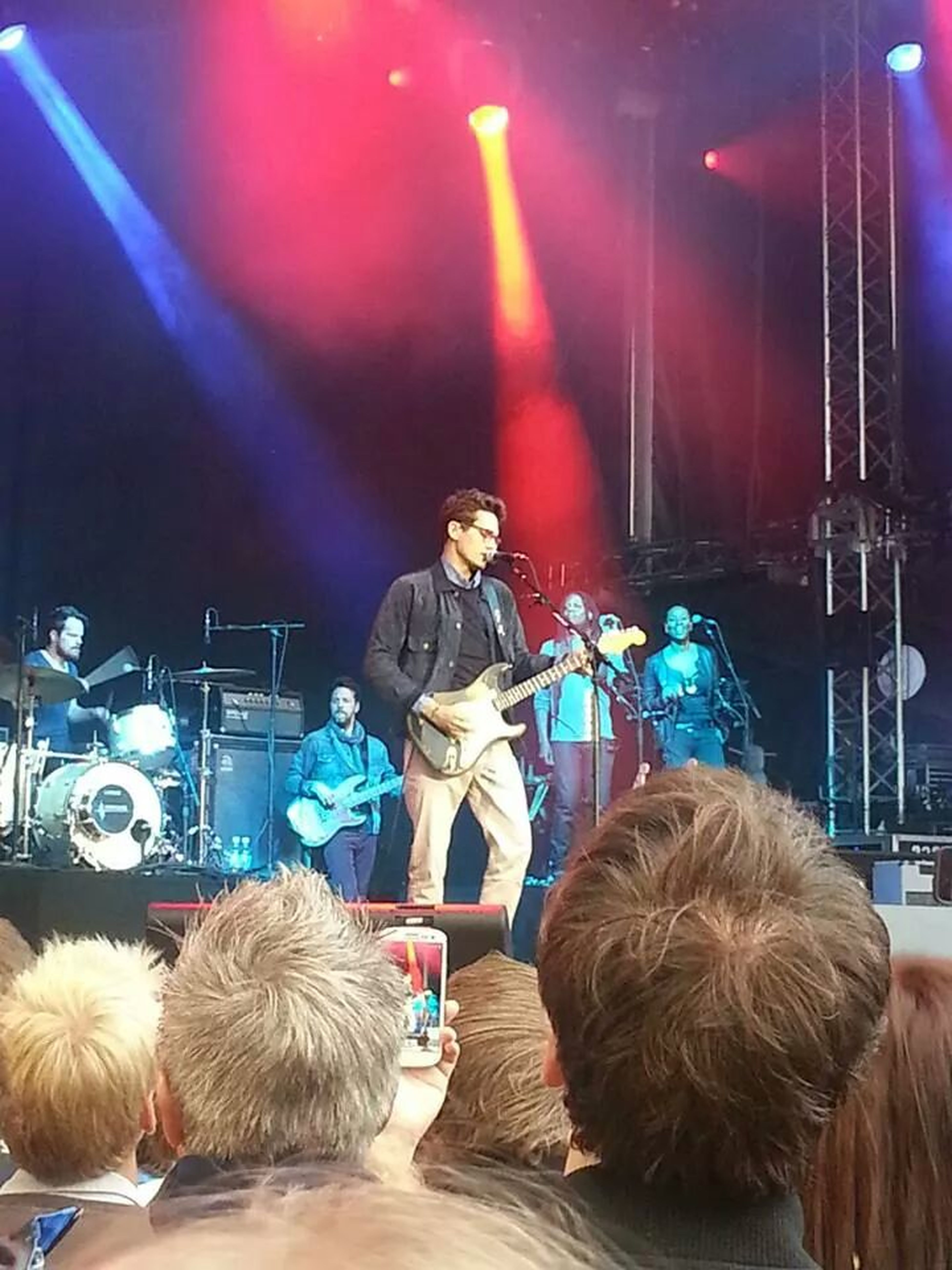 I went to see John Mayer one more time, such a great gig, had the time of my life! John Mayer Johnmayer Music Festival Bergen,Norway