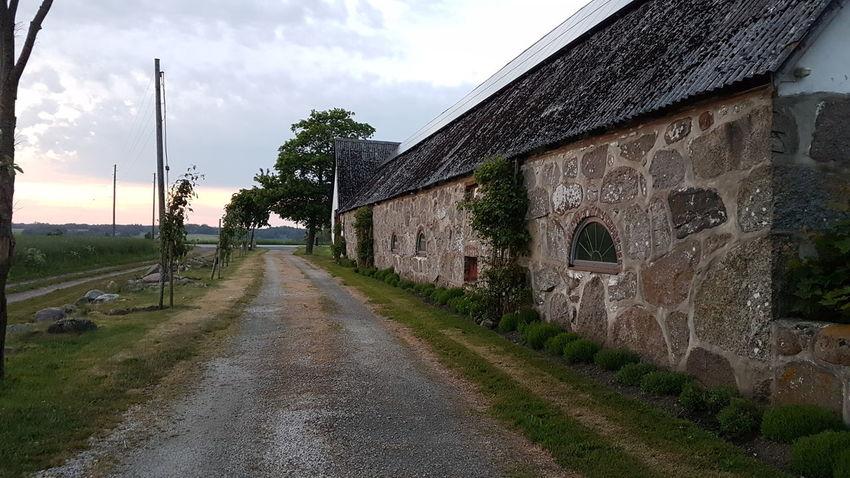 Farm Life Grange Farm Way Bauernhof Weg Abendstimmung Evening Evening Sky Skåne